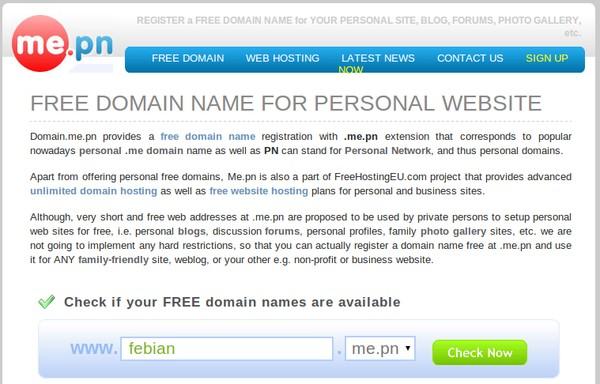tips untuk mendapatkan domain gratis