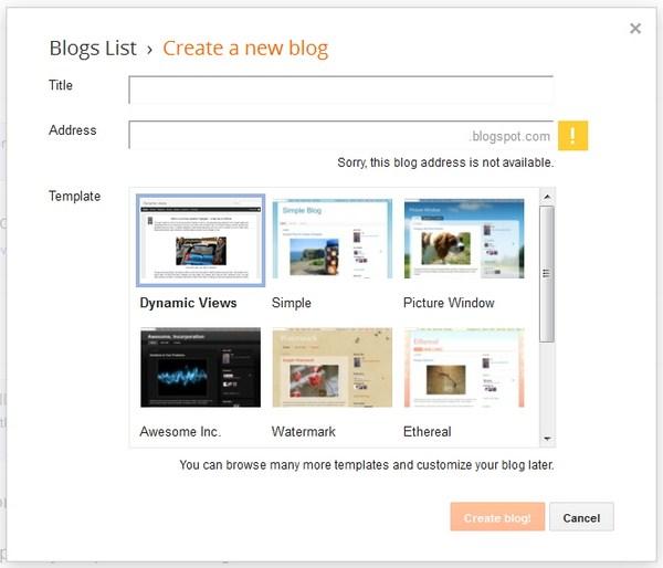Cara Praktis Membuat Blog Dalam 3 Menit