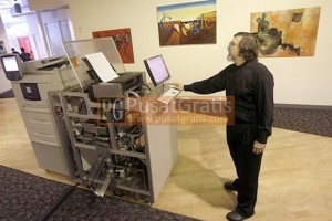 ATM Buku milik Google : Espresso Book Machine