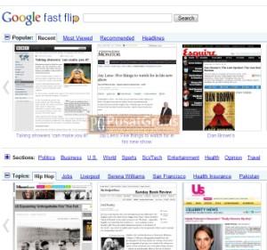 Google Mengembangkan Fast Flip
