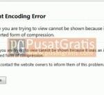 Tips Mengatasi Error Encoding Kompresi Gzip