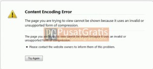 Tips Mengatasi Error Encoding Kompresi Gzip