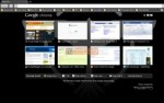 Tampilan Theme Google Chrome
