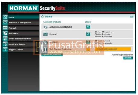 Screenshot Norman Antivirus