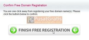 Finish Free Registration