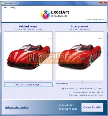 ExcelArt