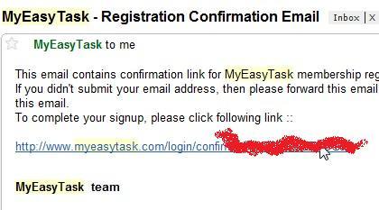 Klik Link Di Email Anda