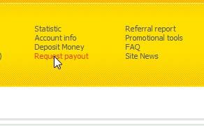 Request Payout Anda setelah Minimal $10