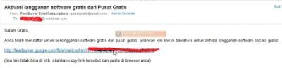 Login ke Email dan Klik Link Aktivasi