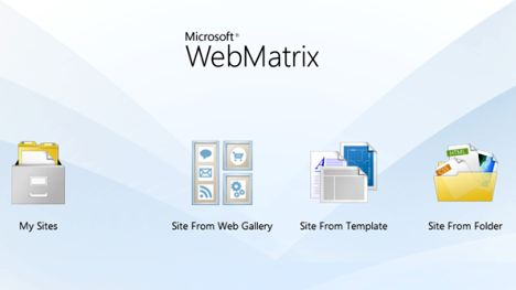 WebMatrix Website Builder