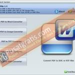 PDFZilla Full Version untuk Mengconvert file PDF