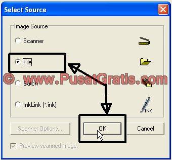 Pilih Sumber Dokumen