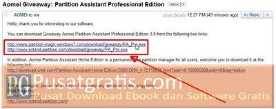 Download Link Terkirim di Email Anda
