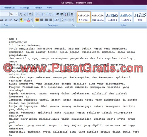 Paste dan Edit di Microsoft Word