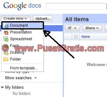 Buat Dokumen Baru di Google Docs