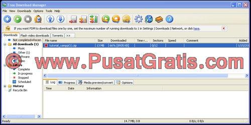 Free Download Manager untuk Mempercepat Download Secara Gratis