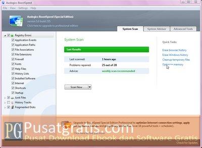 Mempercepat Komputer dengan Auslogics BoostSpeed 5 Special Edition
