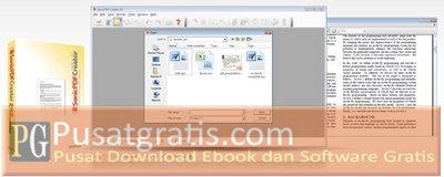 Membuat file PDF dengan Sonic PDF Creator