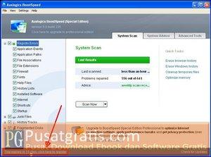 Klik untuk Register BoostSpeed 5 SE
