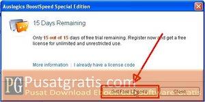 Klik untuk mendapatkan lisensi BoostSpeed 5 SE Gratis