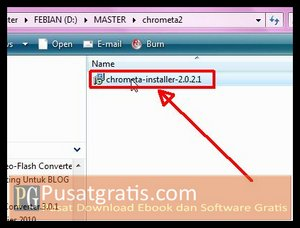 Menginstal Chrometa 2 Full Version