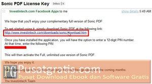 Lisensi dan Download Link terkirim ke Email anda