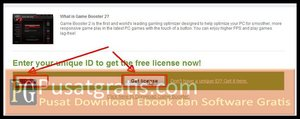 Paste ID dan Klik Get License