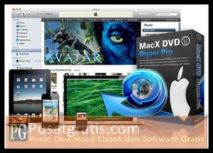 Rip DVD dengan MacX DVD Ripper Pro