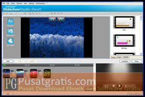 Membuat Slideshow dengan Ashampoo Slideshow Studio Elements