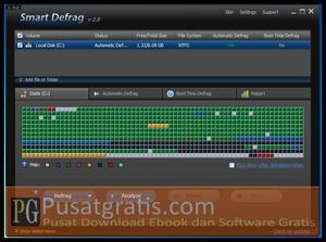 Mengoptimasi Kinerja Hard disk dengan IObit Smart Defrag 2