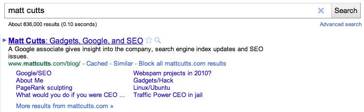 Block All Site Result : Fitur baru dari google