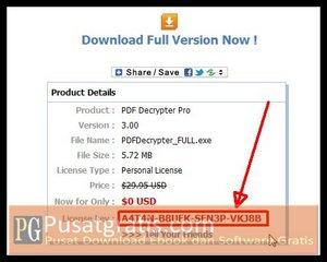 PDF Decrypter Pro License