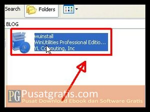 Double klik installer untuk menginstall WinUtilities Professional Edition 9.97