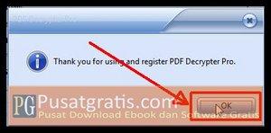 PDF Decrypter Pro telah Aktif