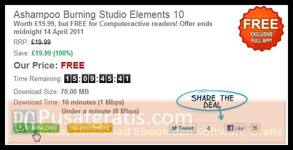 Download AAshampoo Burning Studio Elements 10