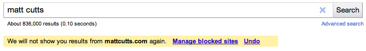 Site telah di blok