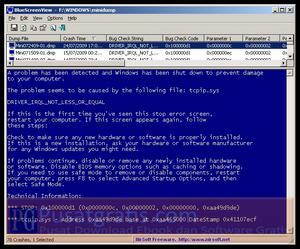 Mengetahui Penyebab Terjadinya BlueScreen di Komputer Anda dengan BlueScreenView
