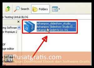 Double Klik Installer Ashampoo Slideshow Studio Elements