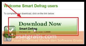 Klik tombol Download Now untuk Mendownload Smart Defrag 2