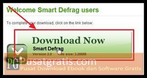 Klik tombol Download Now untuk Mendownload Smart Defrag 2