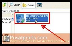 Double Klik Installer Untuk Menginstall IObit Installer