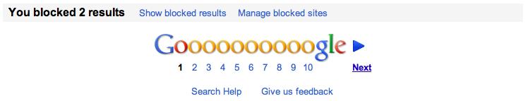 Anda bisa memanage situs yang di blok