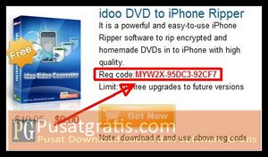 Lisensi Full Version idoo DVD Ripper