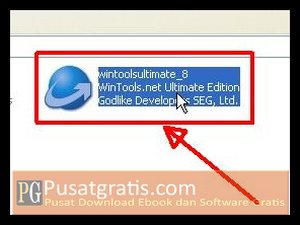 Double klik Installer wintools.net ultimate edition full version