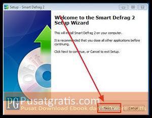 Klik Next untuk menginstall Smart Defrag 2