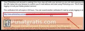 Cek email anda dan klik link konfirmasi