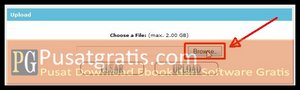 Browse file yang ingin anda upload
