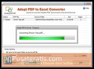 Tunggu Proses Convert Selesai