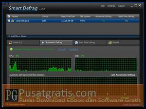 Fitur Automatic Defrag pada Smart Defrag 2