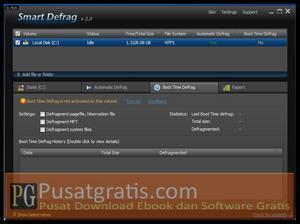 Fitur Boot Time Defrag pada Smart Defrag 2